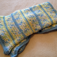 Spring Fields Baby Blanket