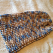 Teen/Adult Brown & Blue Slouchy
